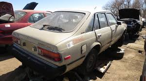 Junkyard Find: 1980 Toyota Corona Liftback Sedan