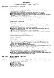 Resume Cashier Supervisor Resume Samples Velvet Jobs S Template Of