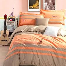 burnt orange comforter orange comforter full amazing gray and orange comforter set grey sets orange bedding