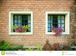 Exterior And Windows Of A Beautiful Old House Stock Photo Image - Exterior windows
