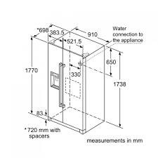 Tủ Lạnh Bosch KAG90AI20G - Hàng chính hãng
