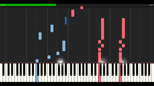 Richard Clayderman Mariage D Amour Piano Tutorial Synthesia