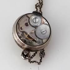 e gubelin pendant watch enclased in a glass orb 1920s