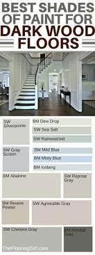 hardwood floors dark paint colors
