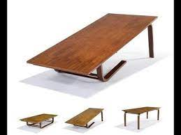 coffee table that converts to dining