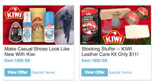 swagbucks 15 moneymaker free kiwi shoe care products with visit
