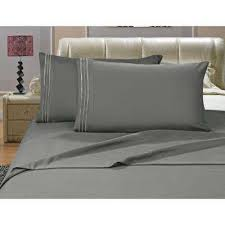 Bed Sheets & Pillowcases Bedding The Home Depot