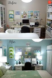 office room diy decoration blue. Wellsuited Small Bedroom Office Best 25 Ideas On Pinterest White Room Diy Decoration Blue