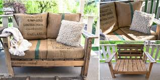 DIY Cool Pallet Wood Chair