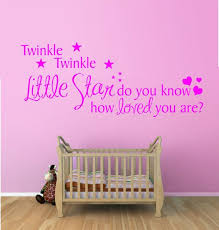 >pin by carla klein on vinyl wall art pinterest twinkle twinkle  twinkle twinkle little star vinyl wall art