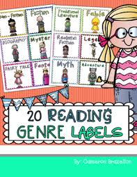 reading labels for book bins or clroom