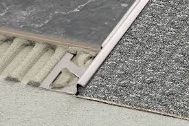carpet joint strip. tile to carpet transition options - the z-bar joint strip i