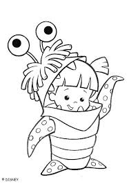 Monsters Inc Coloring Pages Boo Awww Disney Coloring Pages