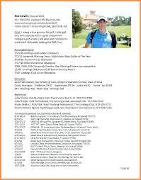 golf professional resume college golf resume new here are college golf resume goodfellowafb