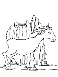 Small Picture Free Printable Goat Coloring Pages For Kids