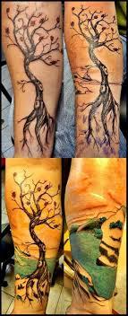 Tetování Japonský Strom Tetování Tattoo
