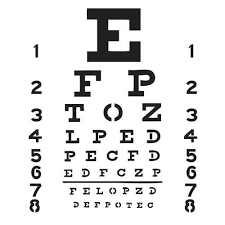 X Chart Template Crafters Workshop Eye Chart Template