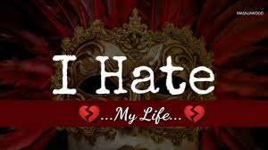 I Hate My Life Quotes Gorgeous I Hate My Life 💔 Best Sad New Whatsapp Status Video Love Quote