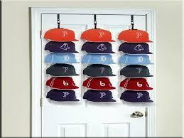 amazing baseball cap rack