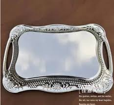 Decorative Metal Serving Trays 100100cm rectangle metal serving tray silver tray decorative serving 12