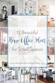 beautiful home office ideas. sense u0026 serendipity 12 beautiful home office ideas for small spaces