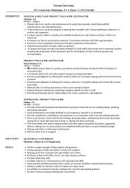 Project Manager Estimator Resume Samples Velvet Jobs