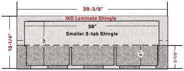 Shingle Color Comparison Chart Iko Shingle Dimensions Chart To Compare Asphalt Shingle