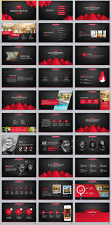 Microsoft Office Ppt Theme 30 Red Black Business Powerpoint Template Business