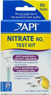 Api Nitrate No3 Freshwater Saltwater Aquarium Test Kit 90 Count
