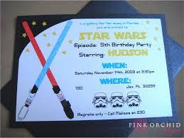 Star Wars Birthday Invitations Star Wars Birthday Party
