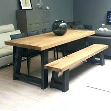 dining table with bench seats. Kitchen Table With Bench Seat Seats Dining Tables Benches Adorable E