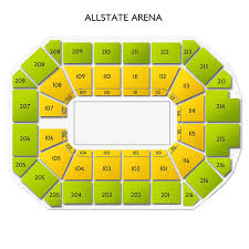 Freedom Hill Seating Chart With Seat Numbers Allstate Arena Concert Tickets And Seating View Vivid Seats