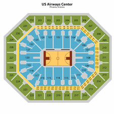 Us Airways Center In Phoenix Seating Chart Seating Charts Insidearenas Com