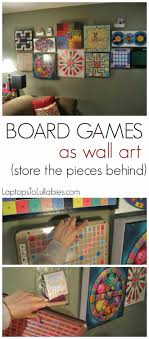 rec room furniture and games. Hang Your Collection Of Board Games Tutorial: Turn Into Wall Art // By Heather Laura Clarke My Handmade Home Rec Room Furniture And