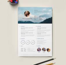 Template Free Download Creative Resume Templates Microsoft