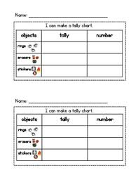 Halloween Tally Chart And Bar Graph