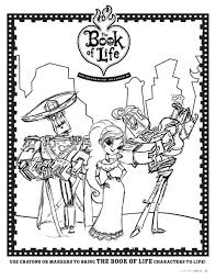 The Book Of Life Maria Coloring Pagesl