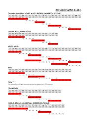 52 Exact Specialized Tarmac Geometry Chart