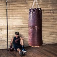 mvp heritage leather heavy boxing punching bag