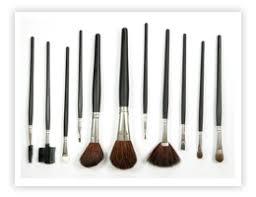 makeup brushes salon manager description