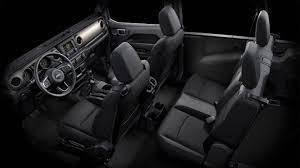 jeep wrangler 4 door interior. Modren Door 2018 Jeep Wrangler BLACK CLOTH Inside Jeep Wrangler 4 Door Interior