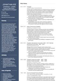 Paralegal Cv Examples And Template