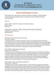Conservation Officer Sample Resume | Nfcnbarroom.com