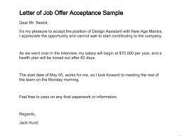 letter to accept job brilliant ideas of letter accepting job offer sample uk for job
