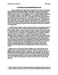 poem essay examples com poem essay examples 19 page 1 zoom in