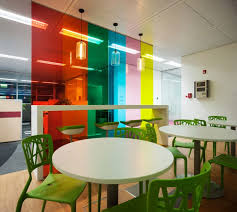 office design blogs. Unique Office Colorfulglassdividerinofficedesign Intended Office Design Blogs