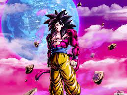 Goku Super Saiyan 4 from Dragon Ball GT ...