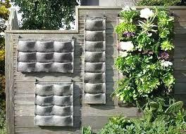ceramic wall planters west elm white australia