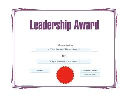 Free Award Template Certificate Of Recognition Templates