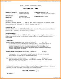 Music Teacher Resume Cover Letter Music Education Resume Sample Teacher Template Cv Example Format 25